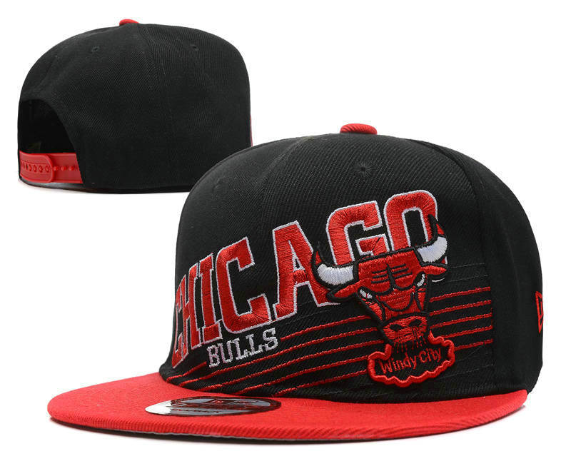 Chicago Bulls Snapback Hat DF1 0512